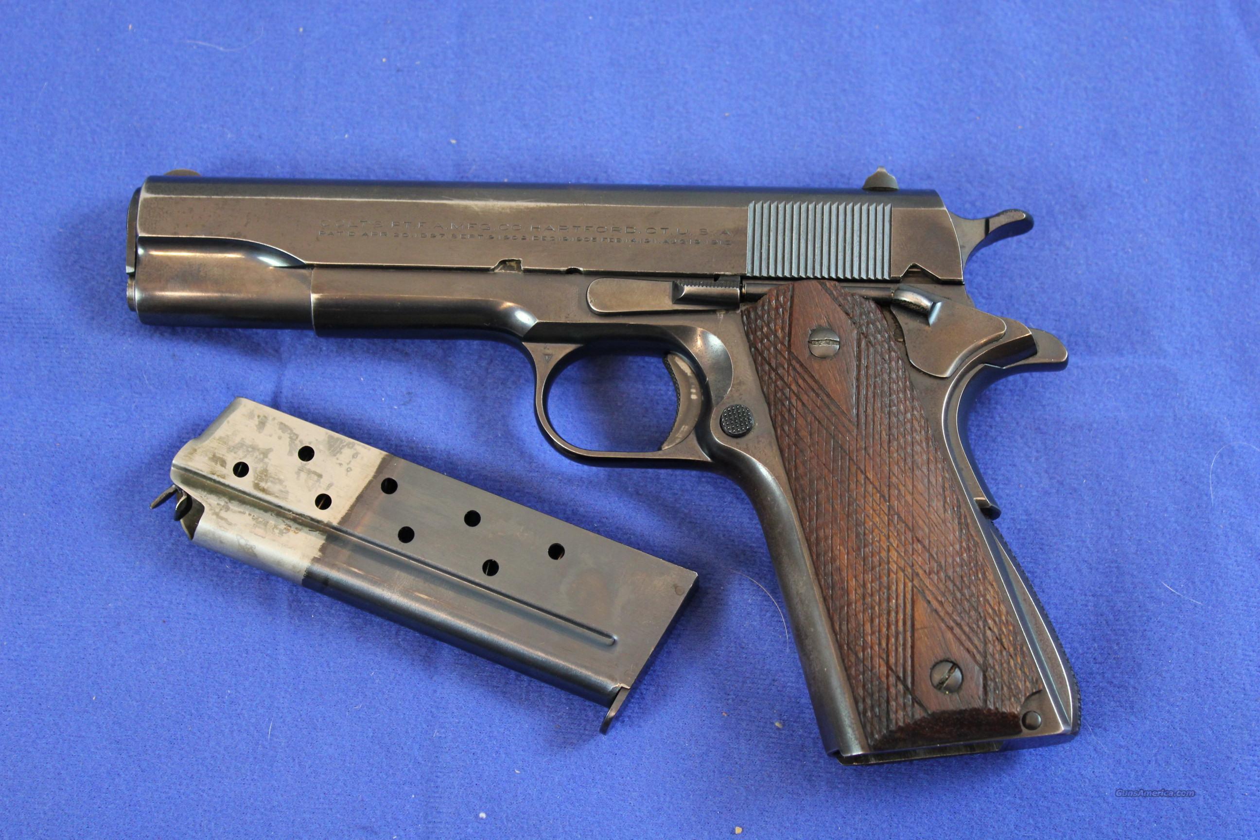 Colt 1911 Slide Serial Number Location