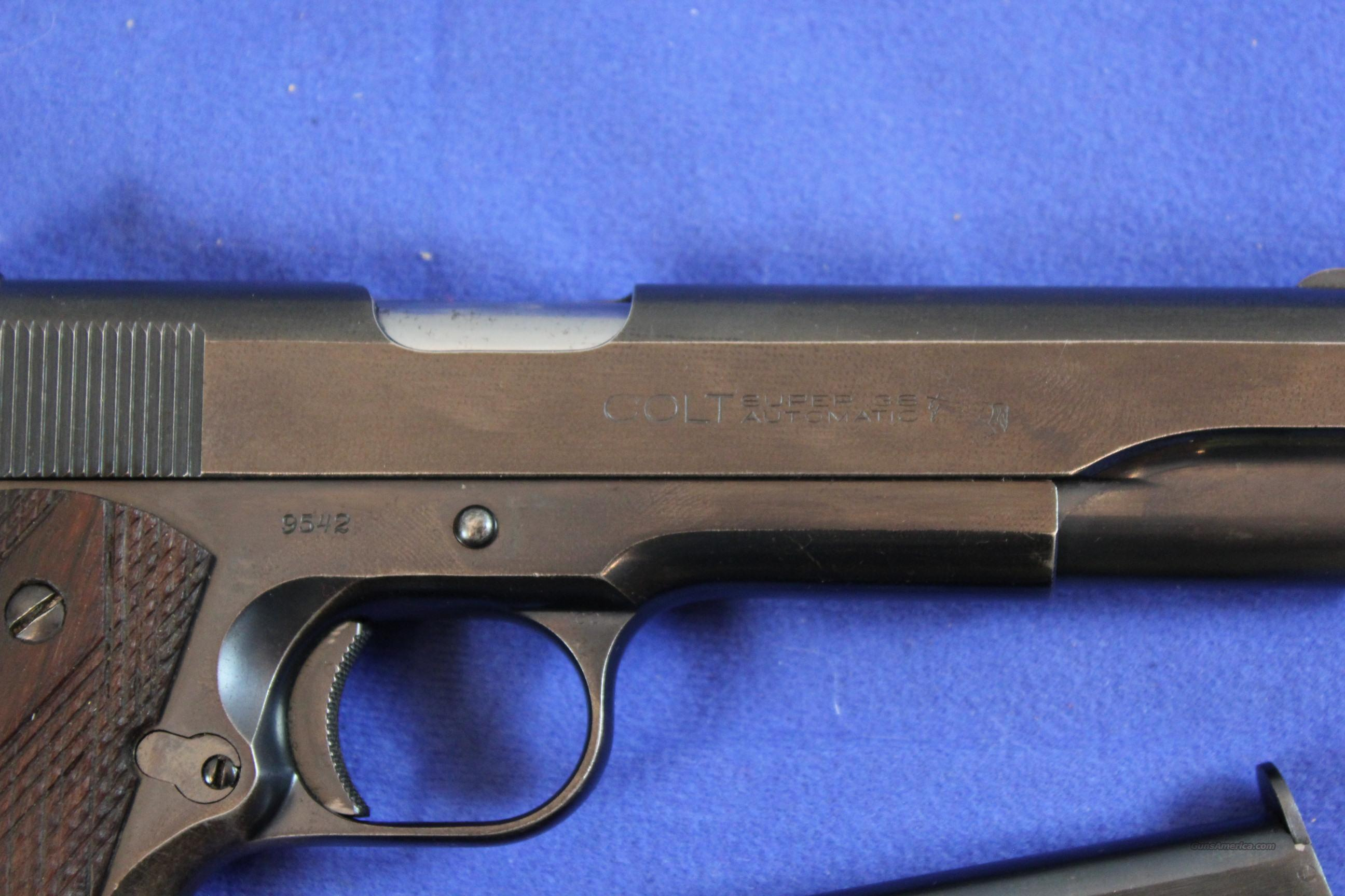 Hookup Colt 1911 By Serial Numbers