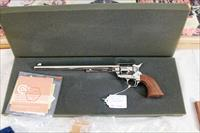 "Colt SAA Buntline 12"" Nickle, New, Unfied, in factory padded box"