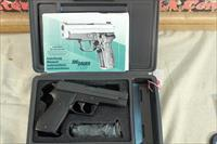 "Sig Sauer P220 .45acp Like New, 4-1/2"" barrel, Unfired in the Box with 2 magazines"