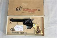 Colt Frontier Scout '62 Single Action .22lr with box.