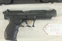 Walther P22 .22lr, Like New in the case with 2 Magazines, Extended Barrel