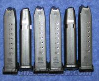 6 Glock 22 mags. 10 round NEW factory $25 each