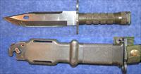 AR15 Bayonet Lancay M-9 used with sheath $75