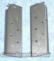 2 Colt officer's mags. Blue 6 round 45ACP $37 each