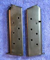 2 Colt 1911 mags. Chip McCormick Blue 8 rd Government $19 ea