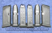 6 Glock 26 mags. factory 9mm 10 round $23 ea