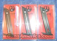 3 Ruger 22/45 mags factory Ruger 22LR $25 each