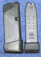 2 Glock 27 mags 40S&W 10 round factory. New $32 each