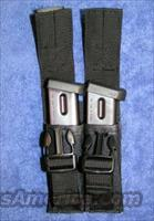 2 Beretta mags new with base pads and pouch 92FS