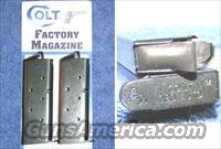 2 Colt Mustang mags. Blue steel 6 round Colt $25 each