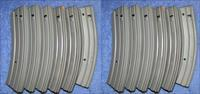 10 AR15 mags by C. Daly. 40rd steel. Free shipping