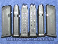 6 Glock 19 mags. New factory 9mm 15 round $25 ea