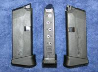 3 Glock 43 mags 9mm 6 rd w ext. factory new $35 each