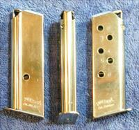 3 Walther PPK 380 mags 6 round Nickel plated .380
