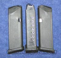 6 Glock 23 mags 10 rd 40S&W factory new $25 each