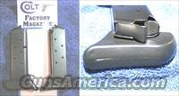 2 Colt Mustang mags. Blue 7 round with Finger rest pad $29 each