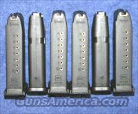 6 Glock 19 mags. New factory 9mm 10 round $28 ea