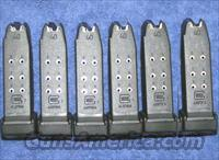 6 Glock 27 mags. factory 40S&W 10 round $32 each