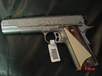 Kimber Special engraved Stainless II Limited Edition,scroll engraved,custom wood & ivory looking grips,many custom shop goodies,new in box & unfired