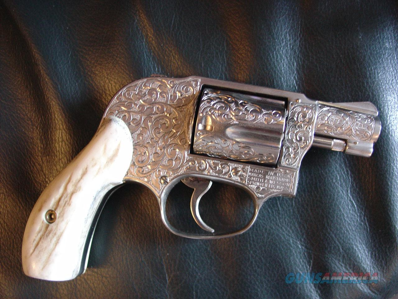 Smith Amp Wesson Model 49 No Dash Fully Deep Scro For Sale