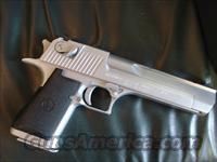"Magnum Research,IWI Desert Eagle 50 caliber Hand Cannon,6"",Matt stainless finish,made in Israel,no box or papers"