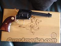 "Colt Frontier Scout,22LR,Dakota Territory Commemorative,1966,Rosewood grips,1 of 1000 made,4 3/4""gold plated & blued,unfired,in wood pres case,& owners manual"