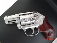 Kimber K6S 357 magnum,fully engraved & polished by Flannery Engraving,6 shots,Rosewood grips,in box with manual etc.awesome work of art !!