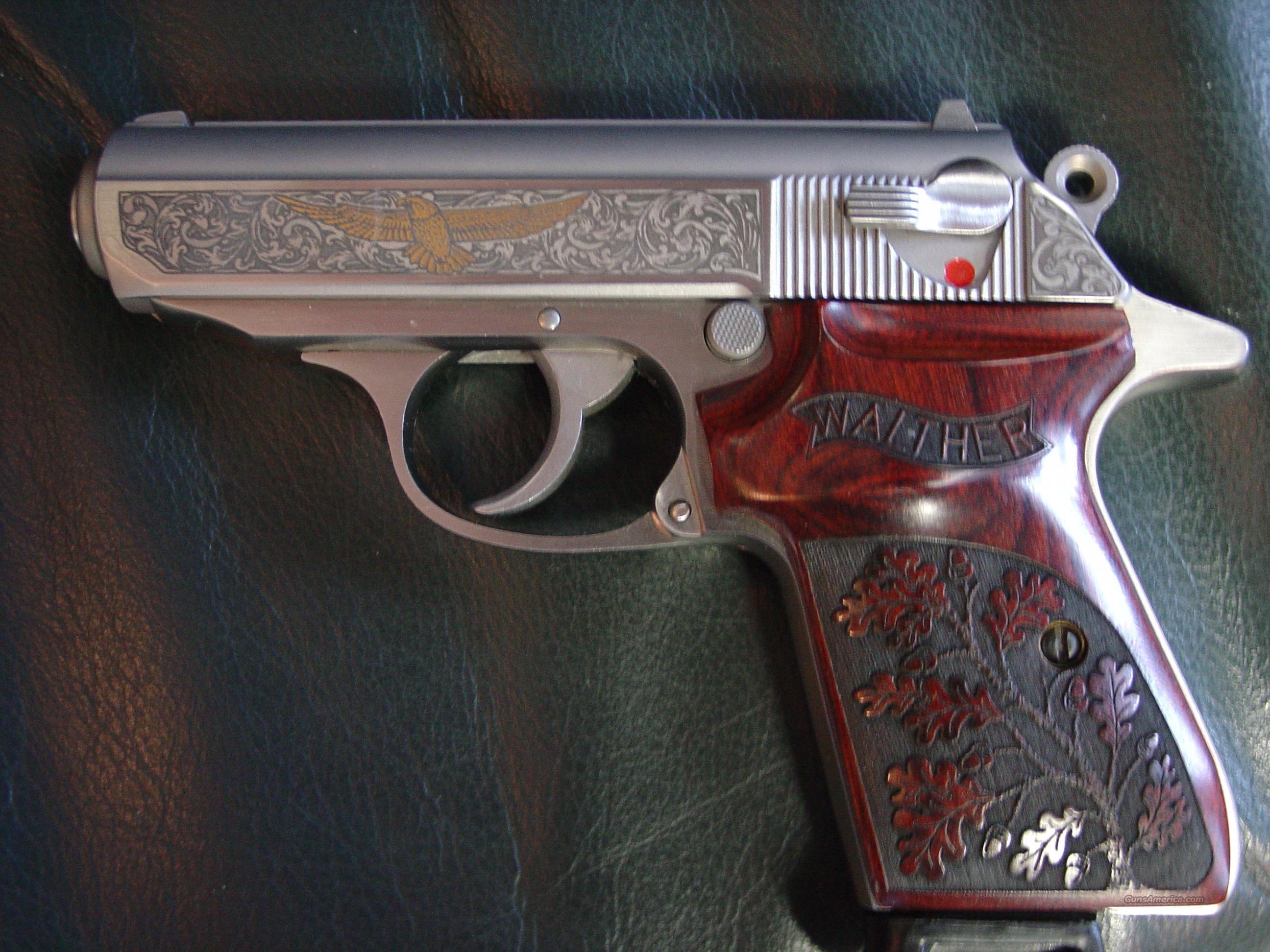 walther ppk s 1 of 400 premier edition engraved for sale rh gunsamerica com