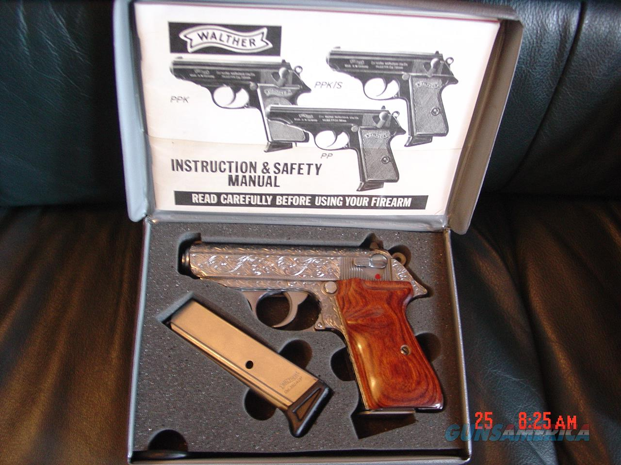 walther ppk s interarms 380 fully deep hand en for sale rh gunsamerica com Walther CO2 Pellet Pistol Walther Nighthawk Pellet Pistol Manual