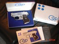 COP 4 barrel Derringer-Compact Off Duty Police,357 magnum,box,manual,warranty,& outer sleeve-looks like test fired only