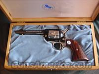 Colt Frontier Scout,22LR,Wyoming 75 Years Diamond Jubilee Commemorative,made in 1964,Rosewood grips,nickel with blue,4 3/4