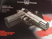 Arsenal Firearms,rare double barrel 9mm, 16 shots, 2 mags,walnut grips,