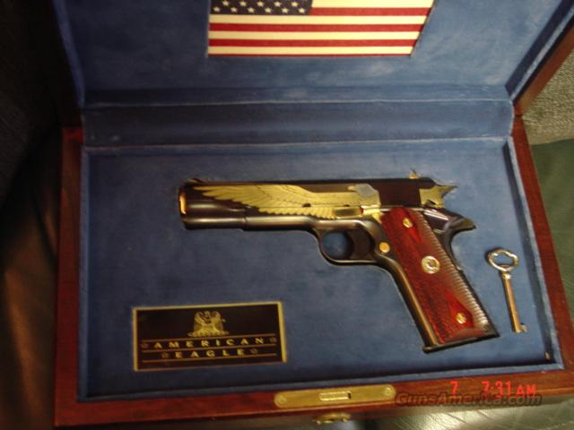 Colt 1911 American Eagle Engraved In Case 45acp Issue Price Was 1995
