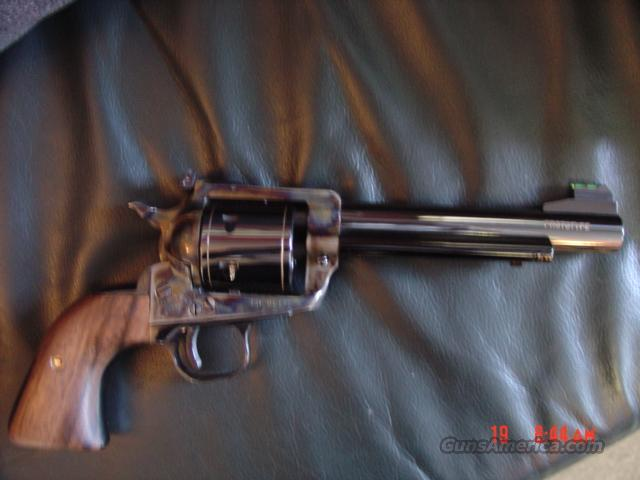 Ruger Gary Reeder Custom Arizona Classic,44 special,case  hardened,engraved,custom grips,action job,etc high gloss black,non fluted  cylinder-RARE !!