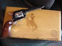 "Colt Frontier Scout,22LR,Wyoming 75 Years Diamond Jubilee Commemorative,made in 1964,Rosewood grips,nickel with blue,4 3/4"",engraved bottom grip frame,in presentation case-unfired"