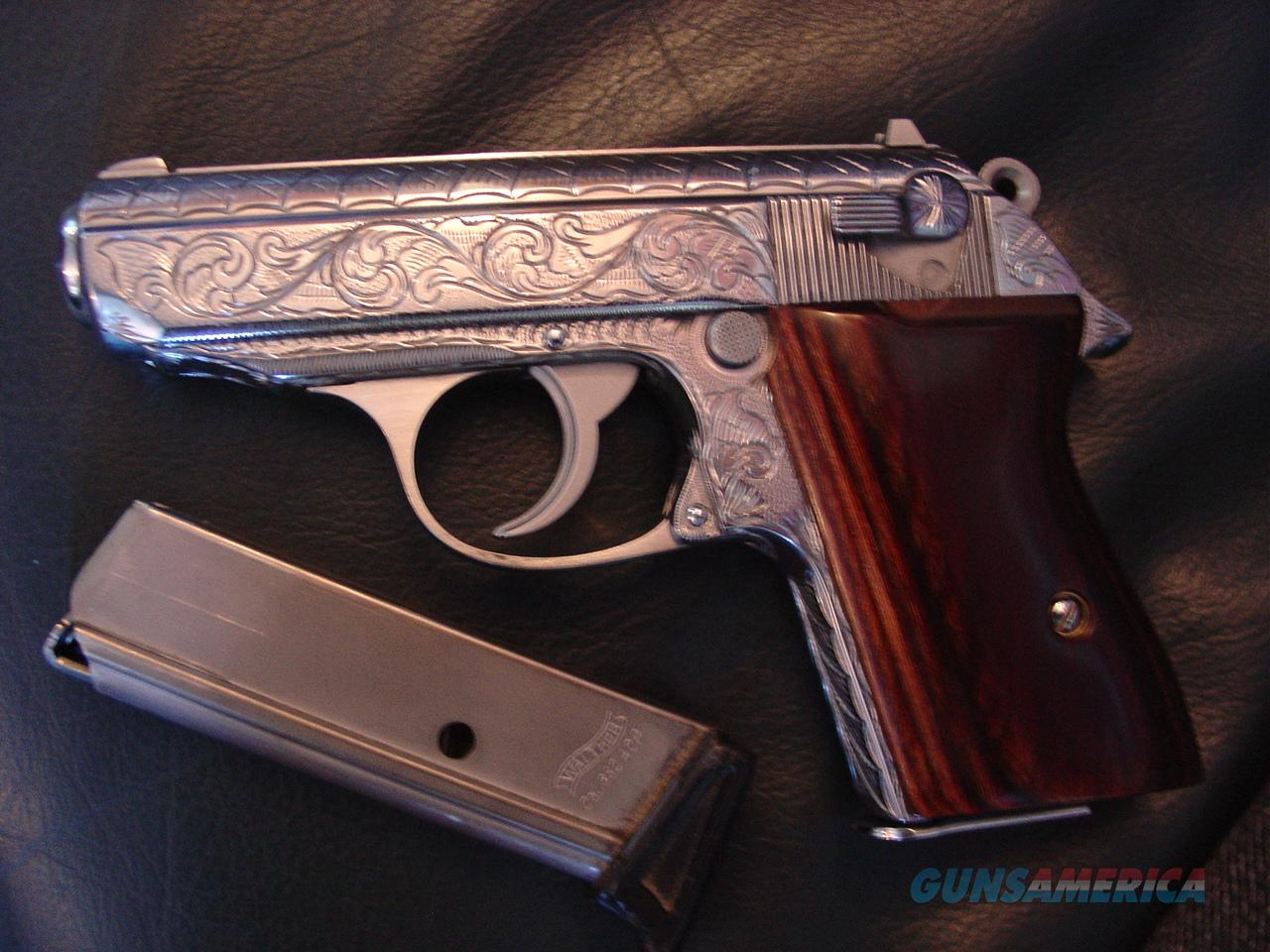 walther ppk interarms 380 fully engraved by fla for sale rh gunsamerica com Walther PPK 32 James Bond Gun Walther PPK