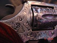 Colt King Cobra- 1 of a kind,fully engraved & polished by Flannery Engraving,custom Rosewood grips,awesome work of art,never fired,in box with manual