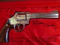 Smith & Wesson 586-3,357 magnum,Bill Elliott commemorative,6