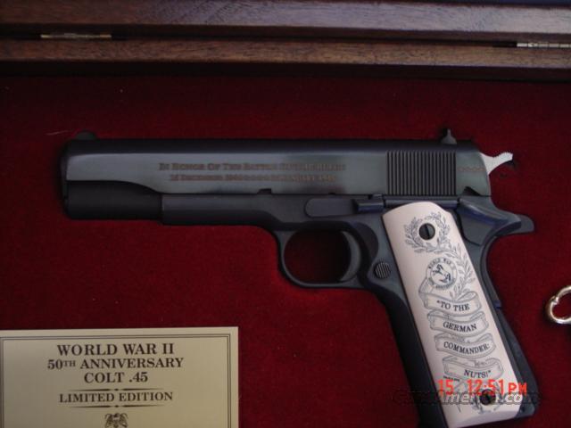 Bb Auto Sales >> Colt Battle Of The Bulge-commemorative,45acp,50... for sale