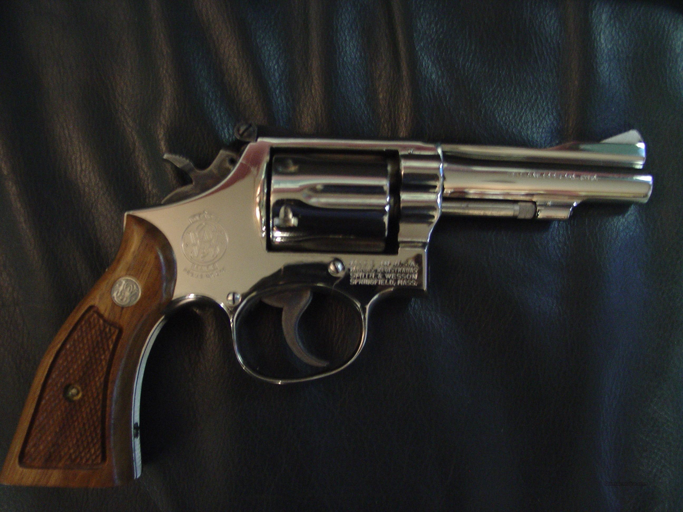 Smith & Wesson Model 15-3,38 special,4
