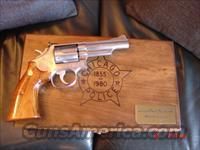 Smith &  Wesson model 66-1,Chicago Police 125 years of service,4