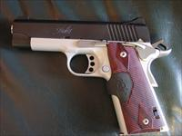 "Kimber Pro Crimson Carry II, 2 tone,45acp,rosewood Crimson Trace laser grips,,4"" barrel,custom goodies,box & papers,as new !!"
