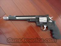 "Smith & Wesson M629-7,44 Magnum,7 1/2"",Performace Center Hunter edition,with Comp.,& red/green dot scope,2 tone blue & stainless,carry case,6 shot,built in top rail-awesome looking gun !!"