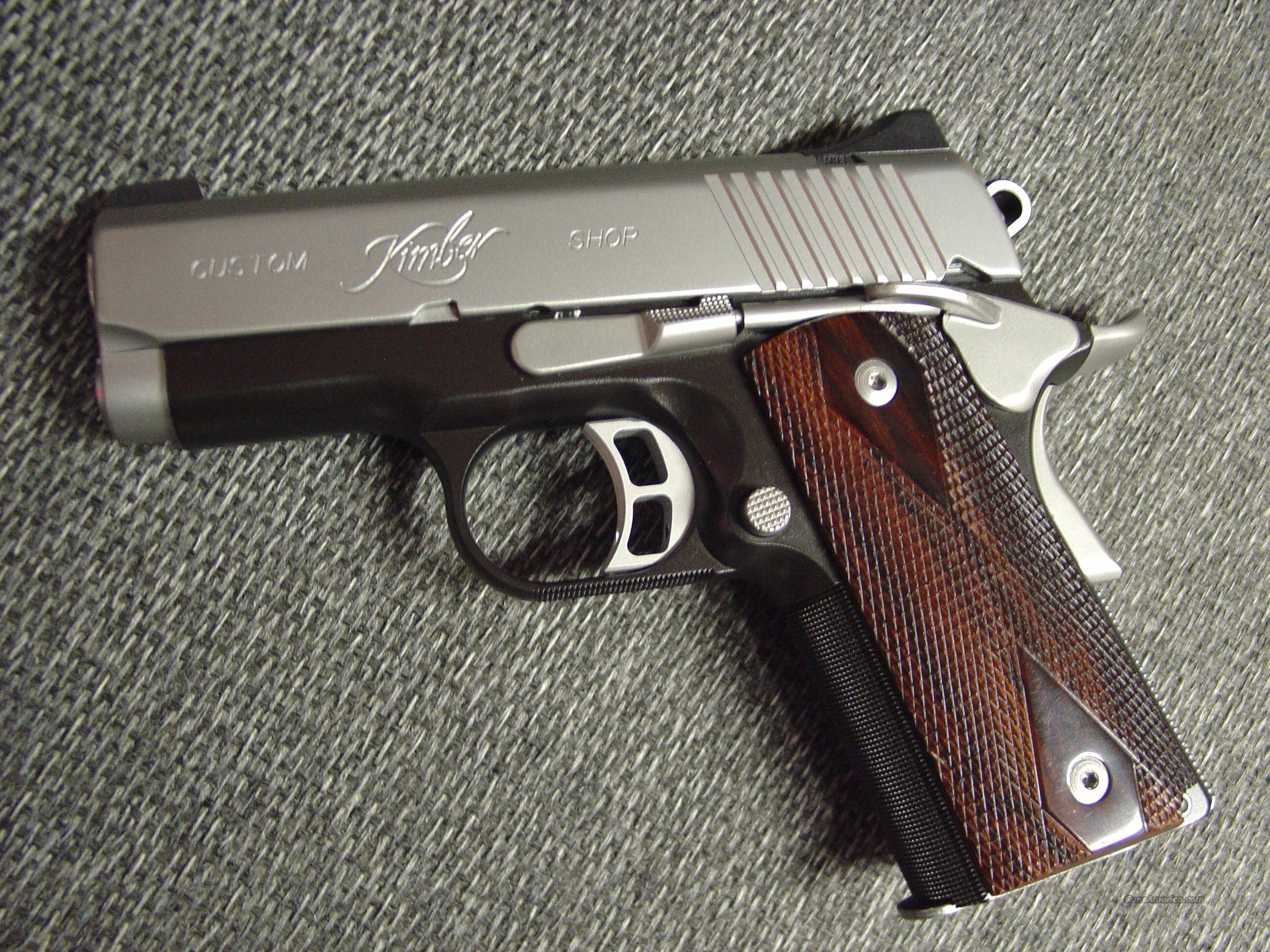 Taurus Wiring Diagram Parts Picturesque Kimber 1911 Colt Custom Shop Ultra Ii Barrel Rosewood Grips Tone Box Manual Possibly Unfired 2592x1944