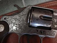 "Colt new Army/Navy master hand engraved,French Gray finished,6"",38 caliber,made in 1903 !! a one of a kind showpiece,double action"