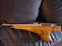 "Wichita MK40,7mm,IHMSA,custom wood thumbhole stock,13""barrel-nickel finish,Redding die set,Silhouette case-rare !the next step up from a Remington XP100!"