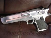 Magnum Research/IMI Desert Eagle Hand Cannon 44 Mag,Custom Satin stainlees finish,6