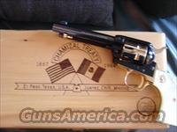 "Colt Frontier Scout Chamizal Treaty commemorative, # 470 of only 500 !! 22LR,4 3/4"" barrel,many gold plated parts,Pearlite grips, unfired in fitted wood pres case !!"