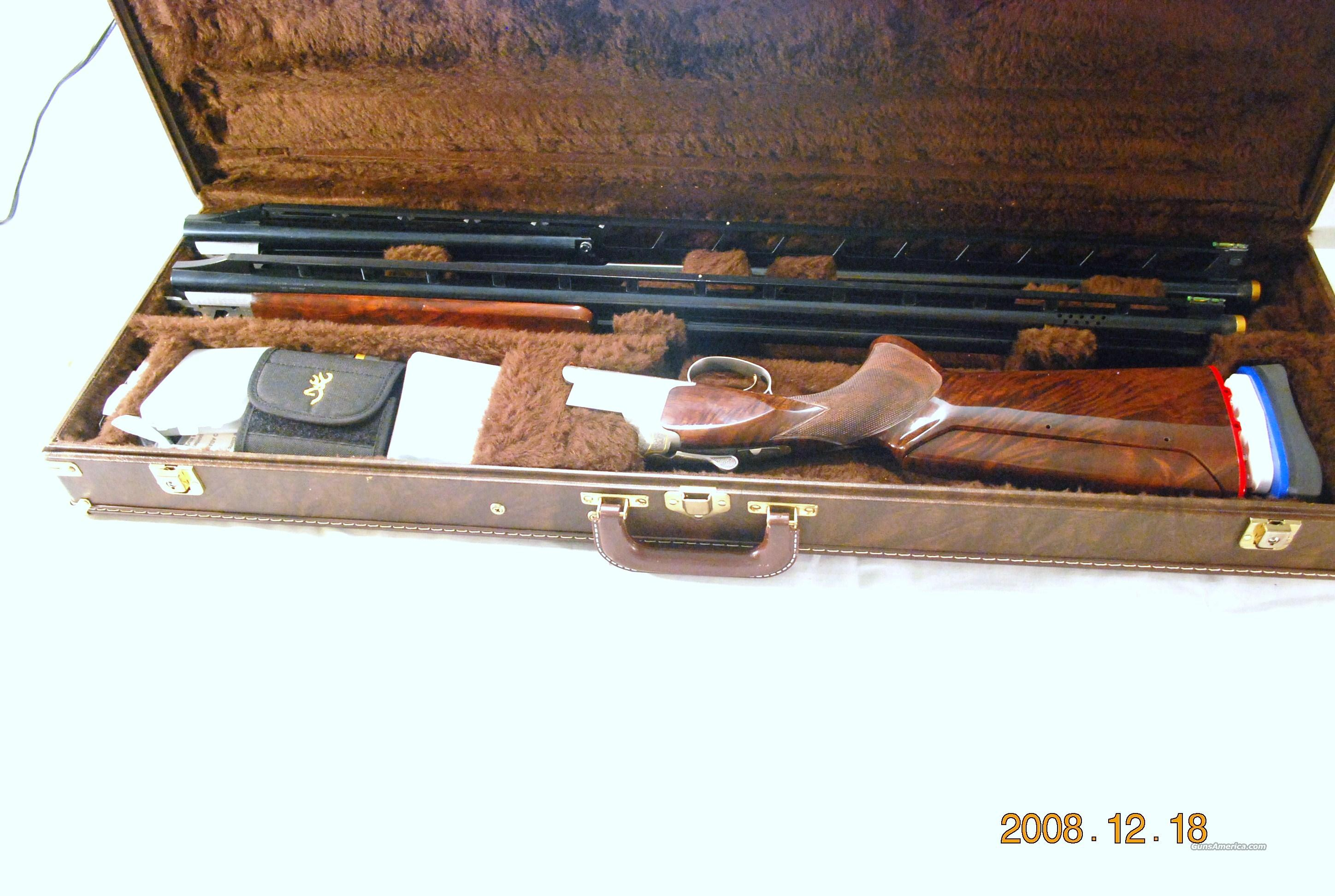 Browning XT Trap,Golden Clays Unsingle Combo